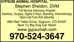 gypsum animal hospital