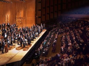 The LSO in the Barbican Hall