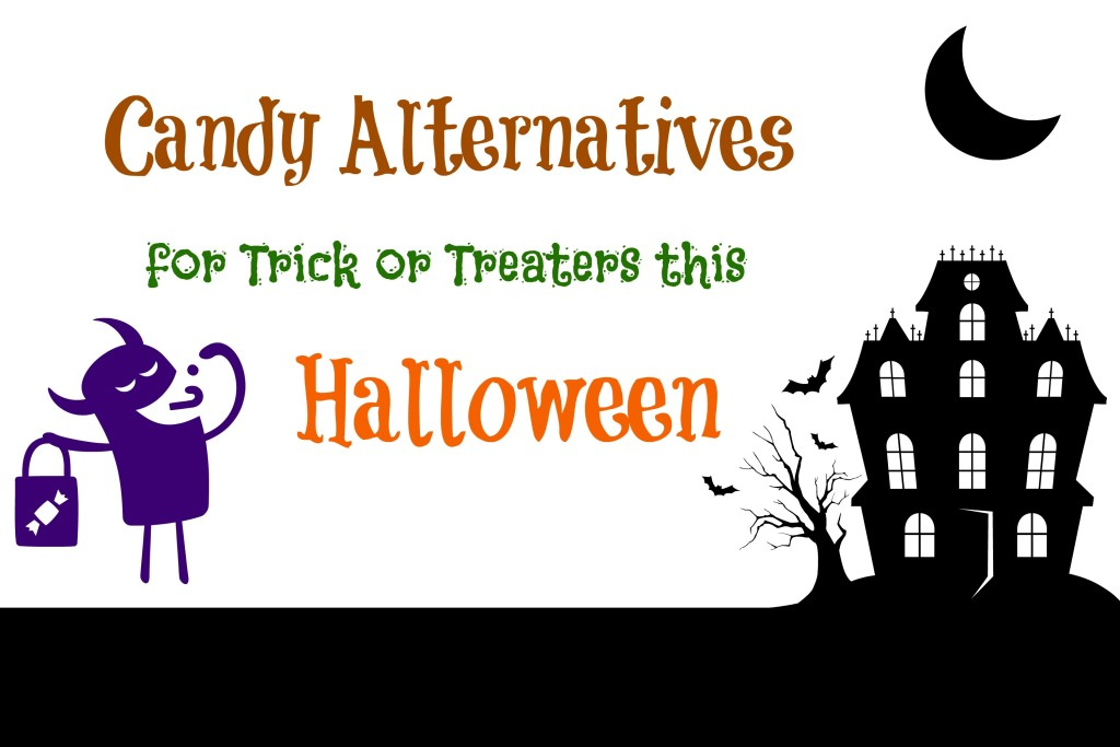 Candy Alternatives for Trick or Treaters This Halloween -- hand out things besides candy this Halloween | www.alwaysmovingmommy.com