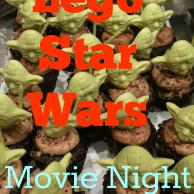 Lego Star Wars Movie Night