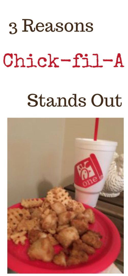 3 Reasons Chick-fil-A Stands Out | Always Moving Mommy | There are lots of fast food choices but these reasons are why Chick fil A stands out from the rest.