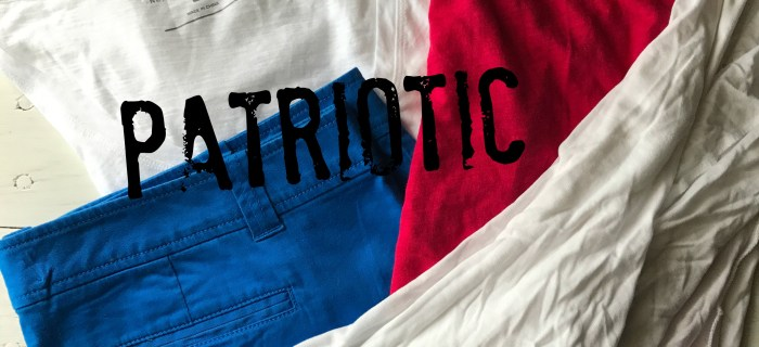 Add a Little Patriotic to Your Wardrobe