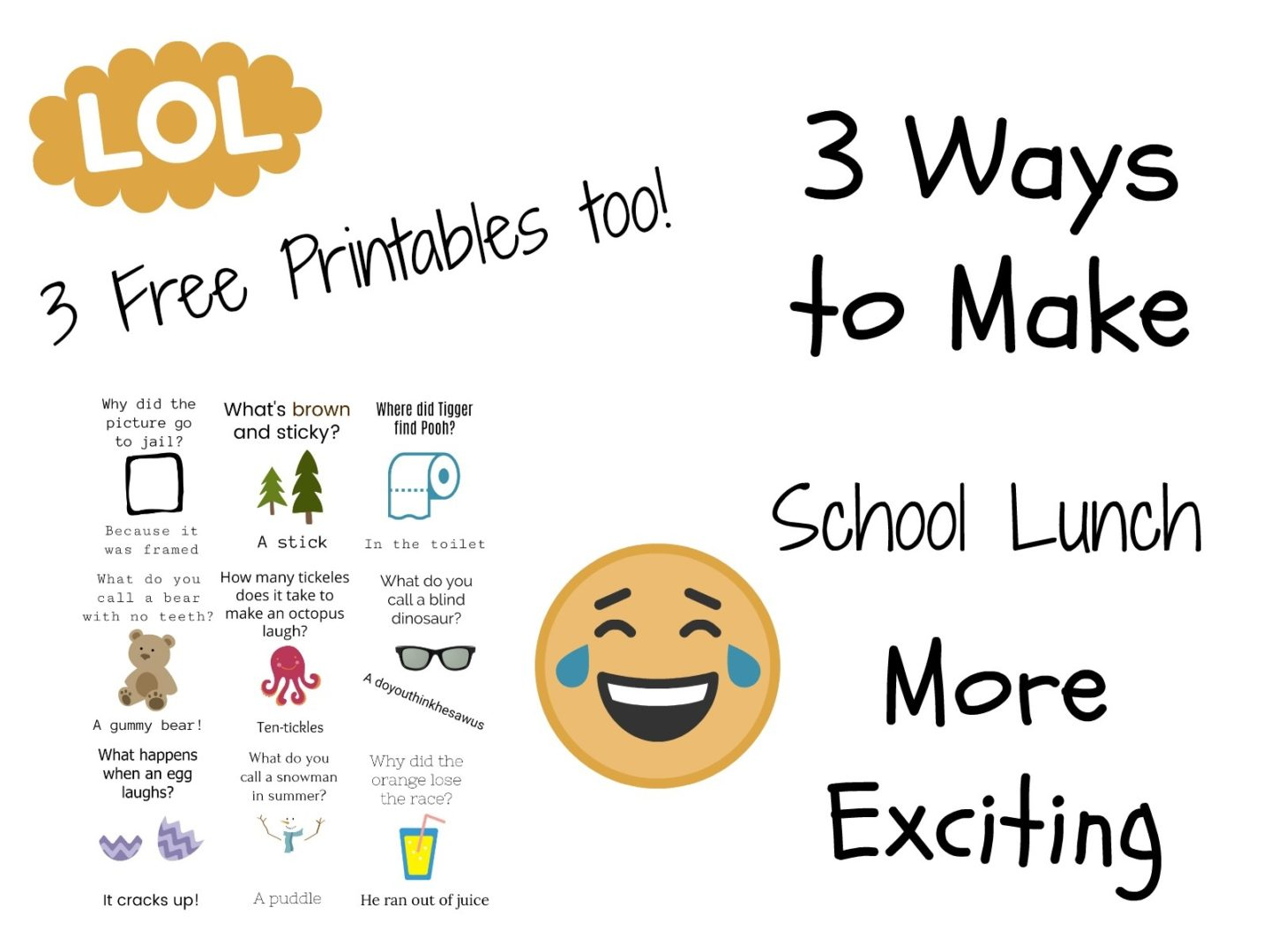 3 Easy Ways to Make Packed Lunches More Exciting | Always Moving Mommy | Don't let lunch time be boring! Here are some ways to keep it entertaining for your kiddos