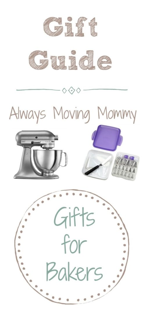 Gift Guide: Gift Ideas for Bakers | Always Moving Mommy | Looking for the perfect gift for the baker in your life? This is the list for you!