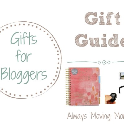 Guide Guide: Gift Ideas for Bloggers