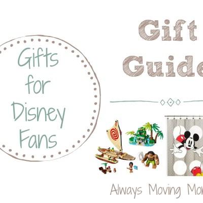 Gift Guide: Gift Ideas for Disney Fans