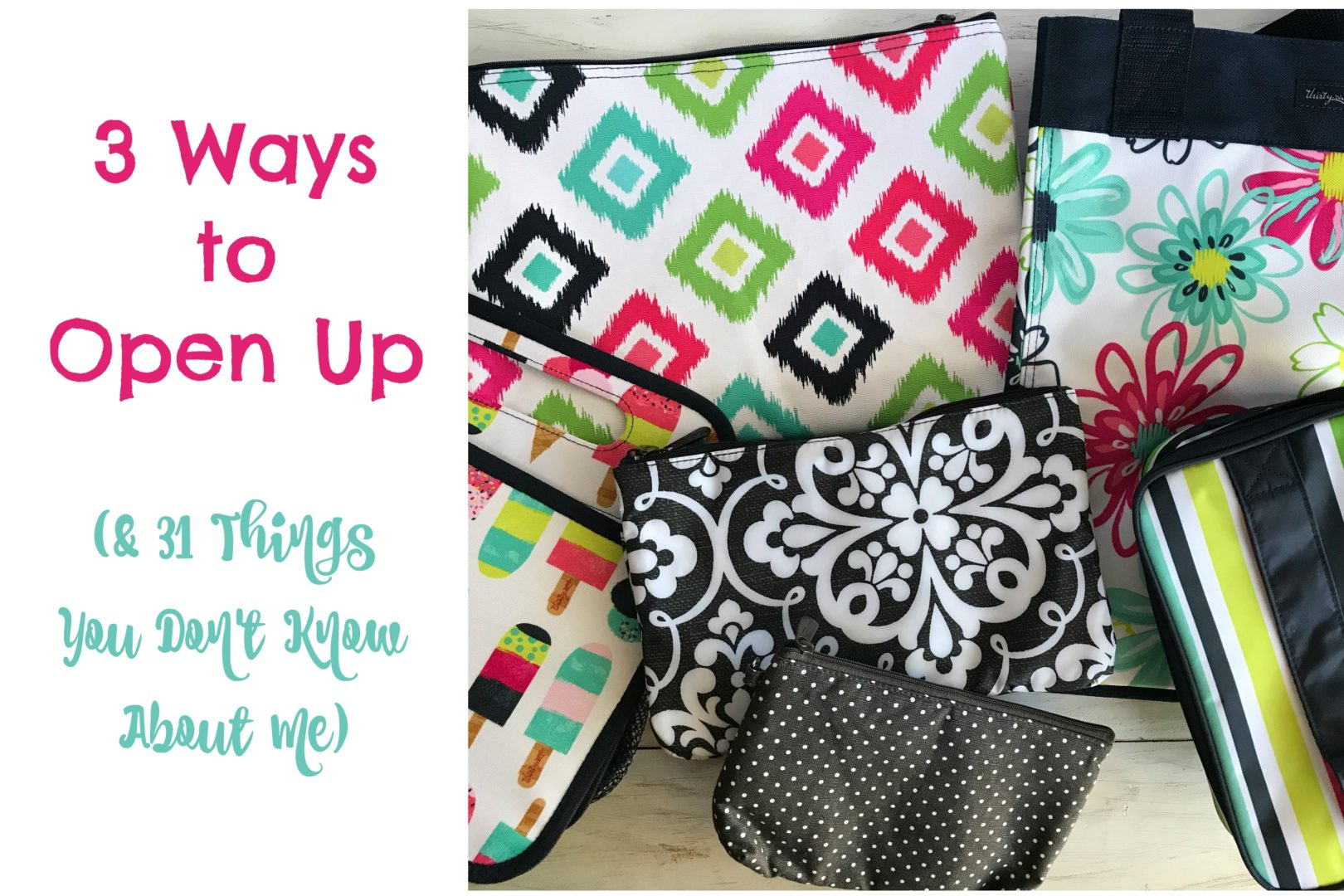 3 Ways to Open Up (And 31 Things About Me!) | Always Moving Mommy | It's not easy opening up after being hurt, but these three tips can help.