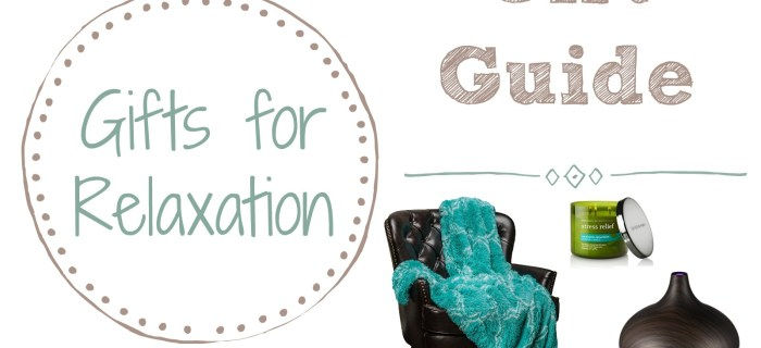 Gift Guide: Gift Ideas for Relaxation at Home