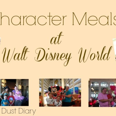 Disney Character Meals – Pros and Cons