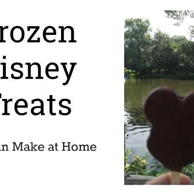 Frozen Make at Home Disney Treats