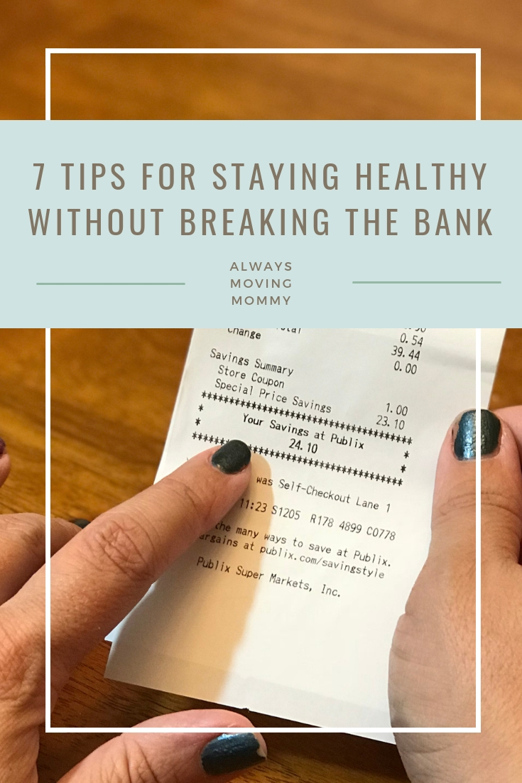 7 Healthy Tips to Help You Save Money