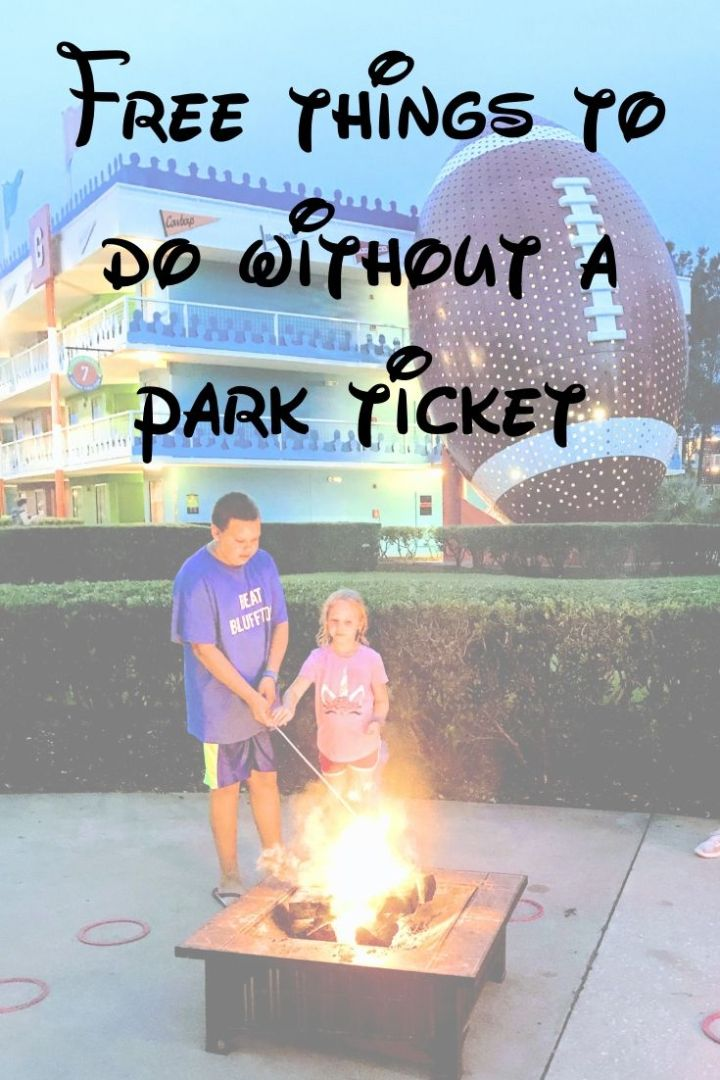 Free thing to do at Disney without a park ticket