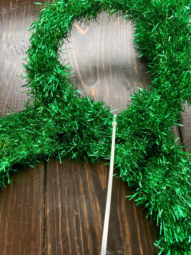 Easy DIY Mickey Wreath | AlwaysMovingMommy.com