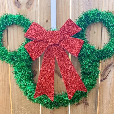 Mickey Wreath Tutorial
