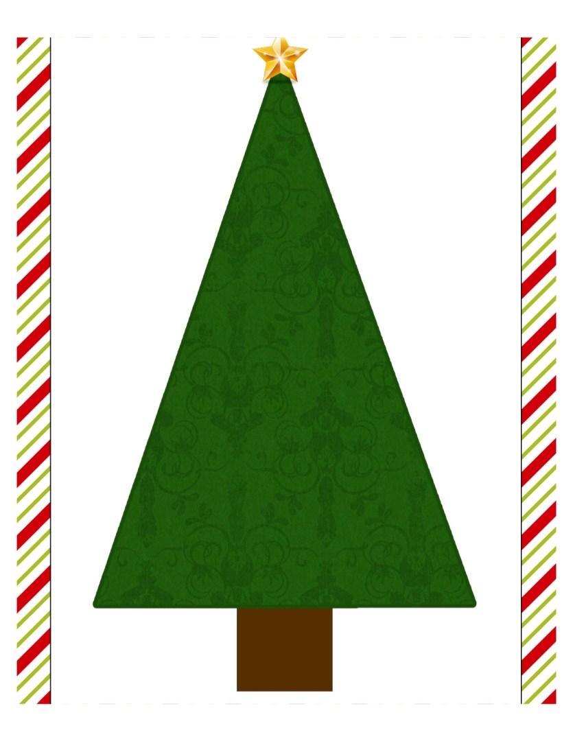 Free Printable Roll a Tree Christmas Game | AlwaysMovingMommy.com