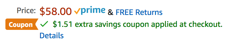 using coupons when shopping on amazon