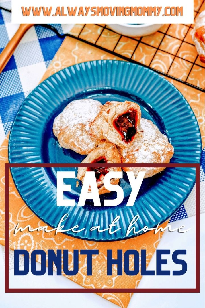 How to make quick and easy donut holes at home