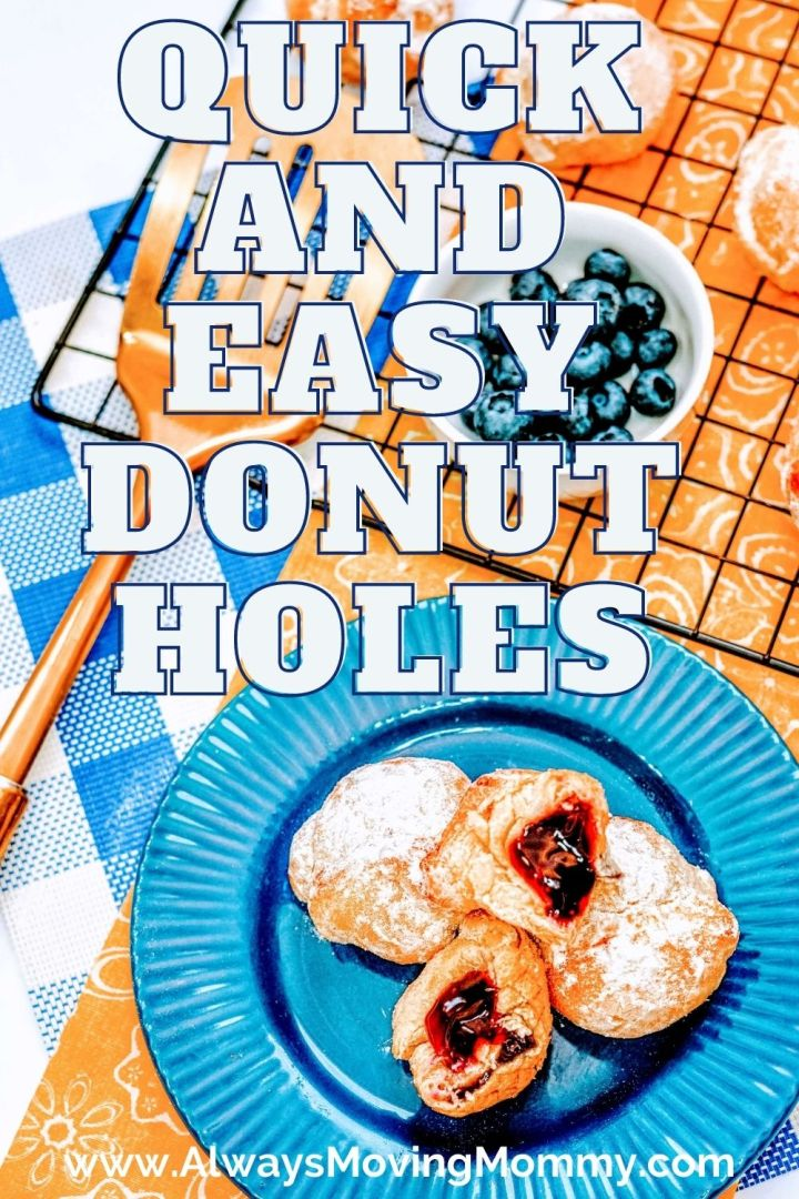 Make these quick and easy donut holes for breakfast