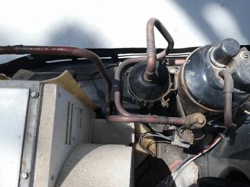 RV Air Conditioner Copper Lines