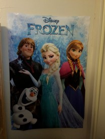 I can't NOT have something Frozen in my room.