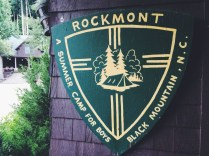 Finally, we met up with everyone in the pre-rendezblue program at Camp Rockmont in Black Mountain, N.C.