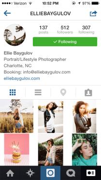 elliebaygulov: Local Charlotte, NC photographer that does a lot of work with my modeling agency. I hope I have the opportunity to work with her soon!
