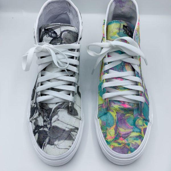 Custom Hydro Dip Shoes Vans Sk8-Hi