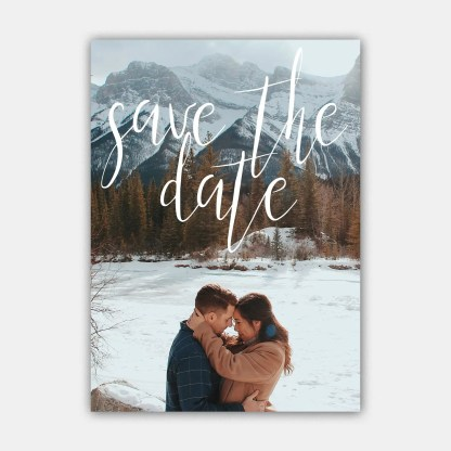 forever in love save the date template