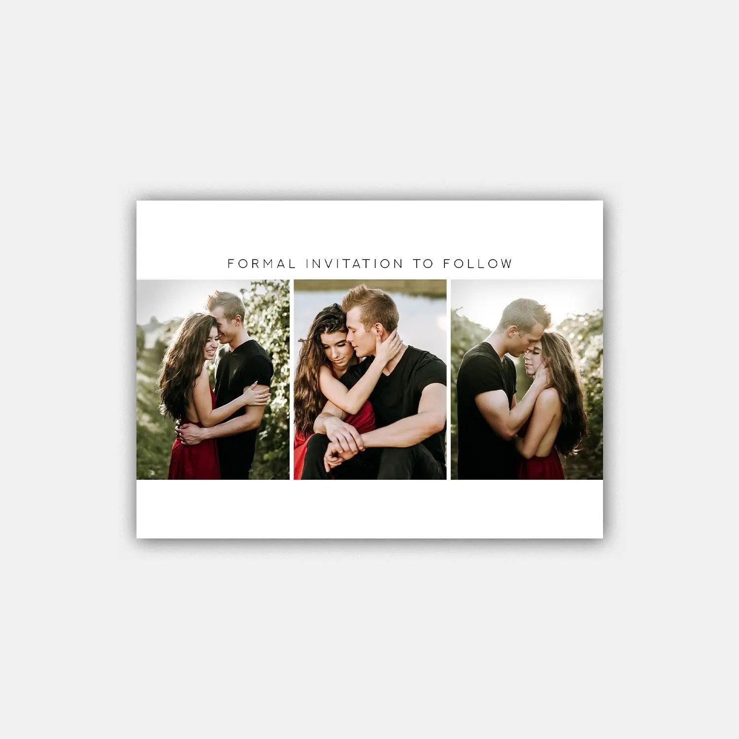 timeless save the date template