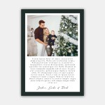 What Year Christmas Card Template