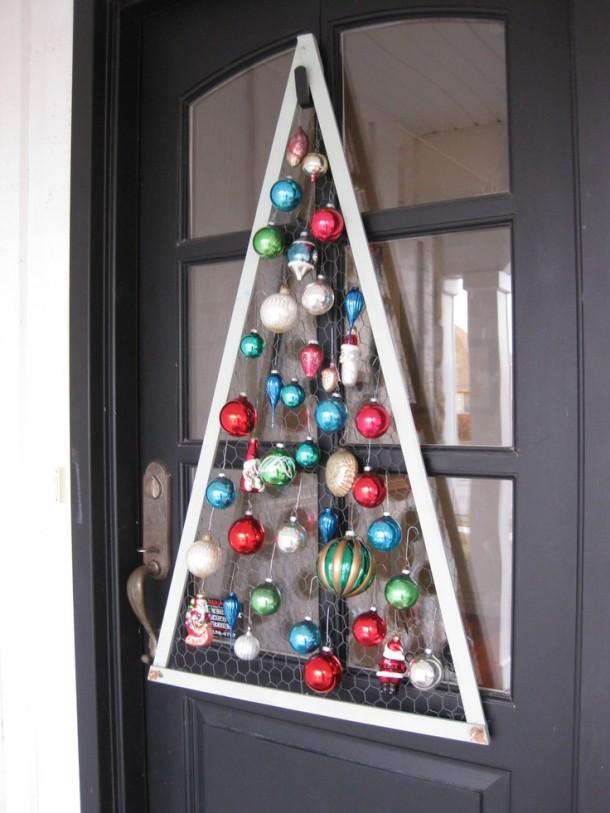Christmas Ornament Door Hanger Always The Holidays