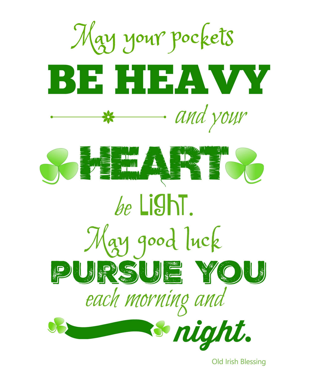 St Patrick S Day Printable