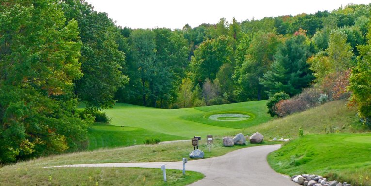 Thornberry Creek at Oneida   Iroquois Course  Oneida  WI   Always     Thornberry Creek   Legends