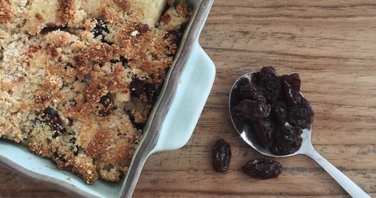 Apple crumble, yes please!