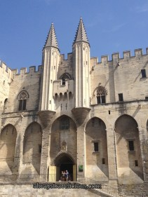 The Pope's Palace & Avignon, France 49