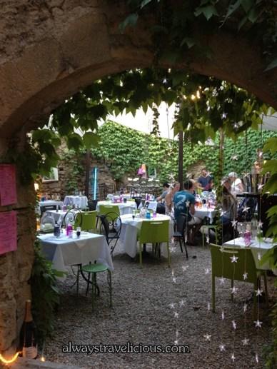 Cafe De L'ormeau @ Lourmarin France 9