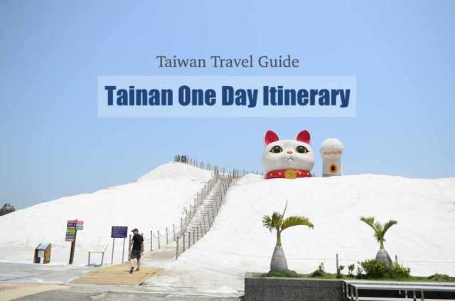 Tainan Itinerary