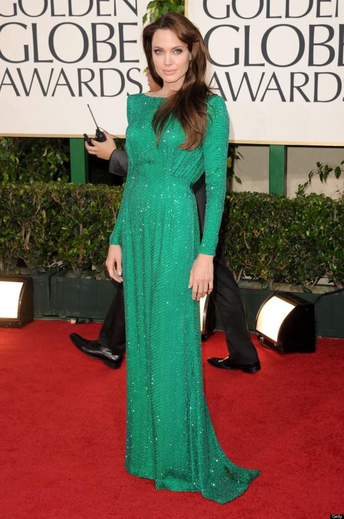 A2F Best Dressed: Angelina Jolie in Atelier Versace