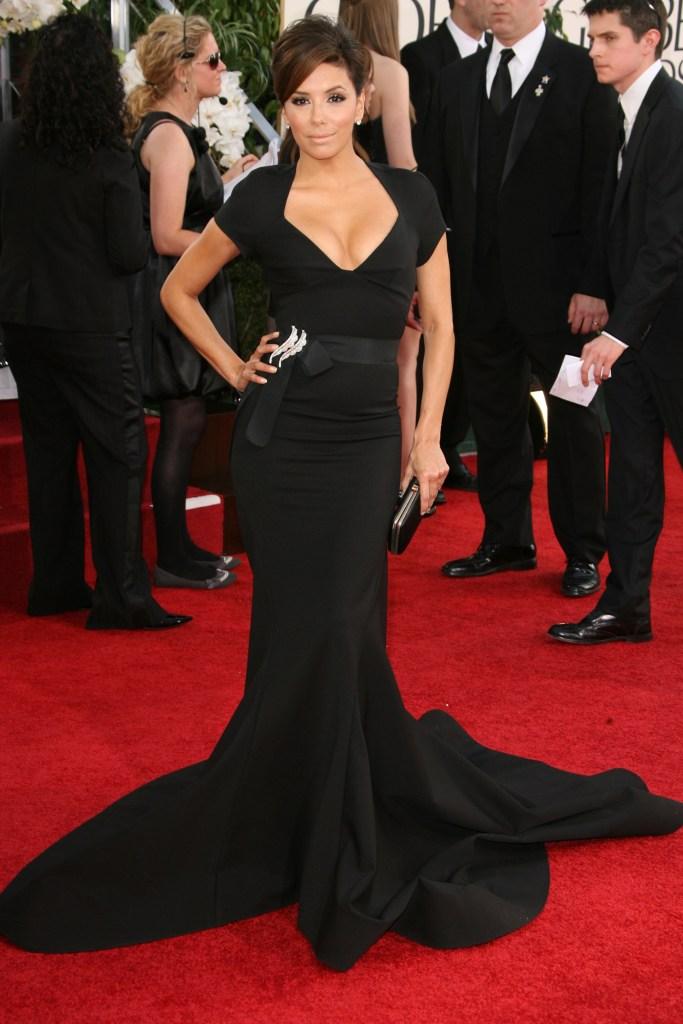 A2F Best Dressed: Eva Longoria in Zac Posen