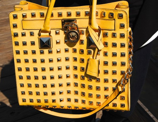 ATF Michael Kors Hamilton Studded Bag