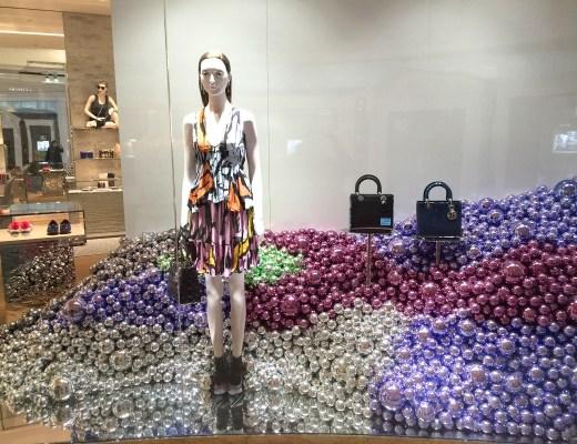 A2F Dior Window Display
