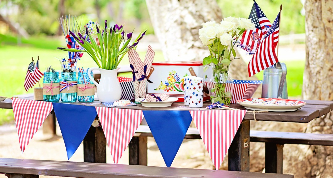 A2F Fourth of July Table Spread