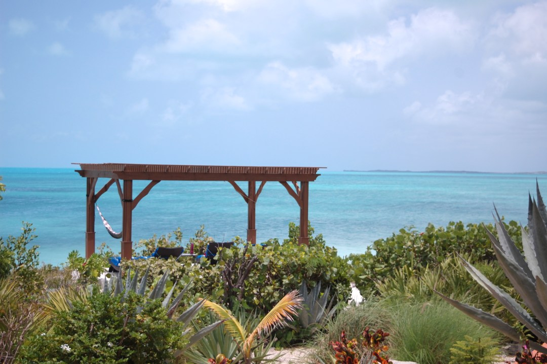 A2F Backyard Scene Turks and Caicos