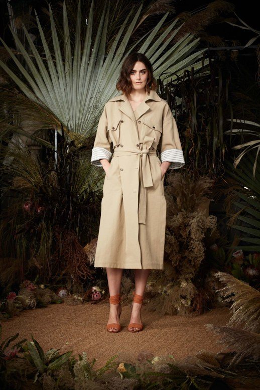 A2F NYFW S/S 2018 Trench Trend Nicole Miller