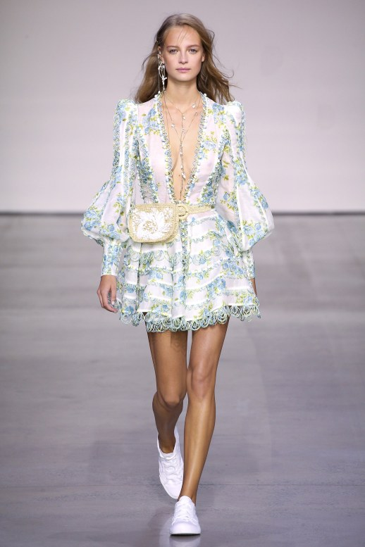A2F NYFW S/S 2018 Pastel Perfection Zimmermann