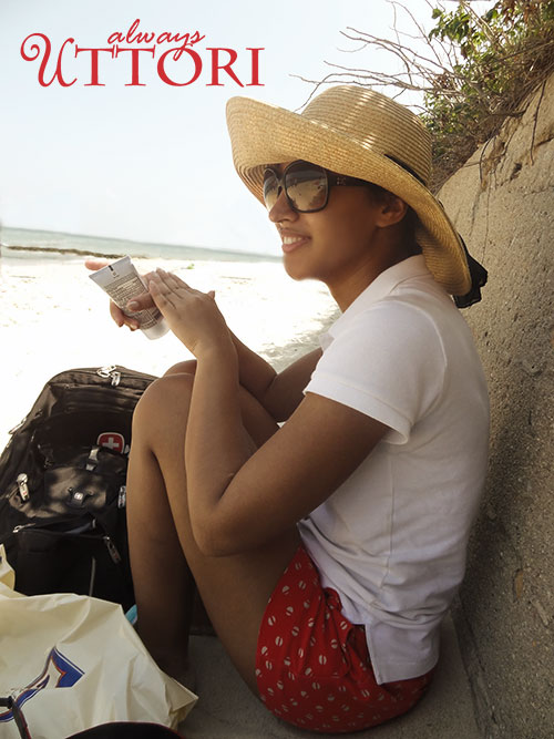Sitting on the beach at Martha's Vineyard, always uttori, alternate universe, travel
