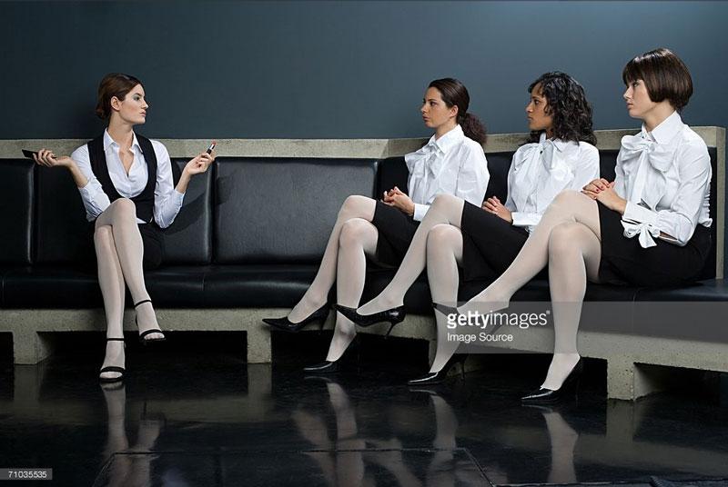 INTJs often have a uniform for fblending in.