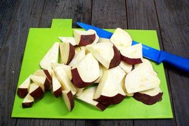 Japanese Candied Sweet Potato Recipe. Photo Credit: I'mari Avey. Alwaysuttori.com.