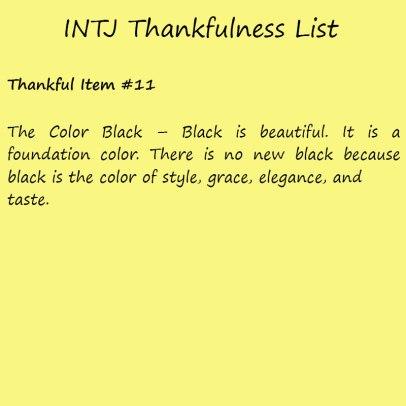 Introvert Life: The Thankful INTJ. Thankful -11