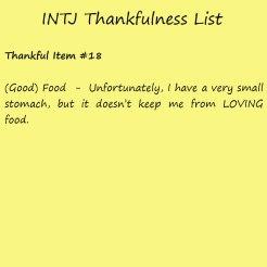 Introvert Life: The Thankful INTJ. Thankful -18